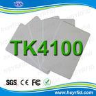 China HSY manufacturer proximity 125khz tk4100 white card