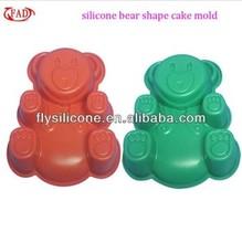 (OEM service) New Style FAD/LFGB animal shape silicone molds