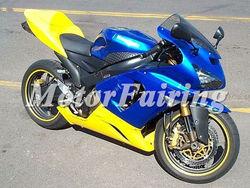 2006 zx6r fairings 2005 zx6r 636 for kawasaki ninja zx6r 2005-2006 zx6r 05-06 fairing kit zx6r body kit zx6r fairing yellow blue