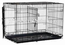Precision Pet Black Great Crate 2 Door 48 in. x 30 in. x 33 in.