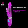 100% Silicone sex toy Jack rabbit vibrator korea sex toys