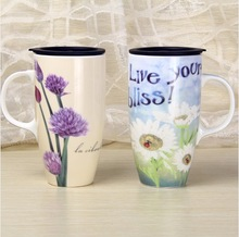 Nice design 500ml Ceramic Mug