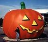 Halloween inflatable balloons,giant inflatable pumpkin F8005