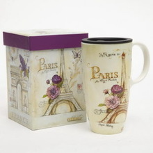 Your Custom Design Ceramic Travel Mug Ceramic Mug