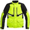 Mens cheap high reflective yellow custom motorcycle jacket