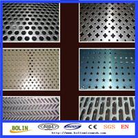 supply nickel punching hole meshes sheet