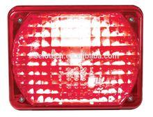 2pc led warning flash light auto interior led light hammer led flashing light torch