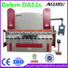 """LAIFU-ACCURL"" (4 axis-Y1,Y2,X+V axis) Delem DA-52s CNC Controller 125tons 2.5m Hydraulic Press Brake Machine for Sale"