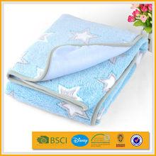 spain fashional super-soft embossed babies coral fleece blanket