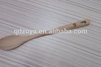 kitchen wooden salad spoon