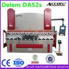 """""""LAIFU-ACCURL"""" Adira Press Brakes 4 axis(Y1,Y2,X+V axis) Delem DA-52s CNC Controller 125tons 2.5m CNC Tandem Press Brake"""