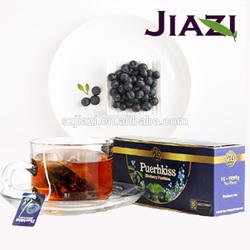 Puer blueberry healthy slim tea