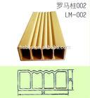 LM-002 WPC Decorative Profile for sliding door panel