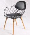 ในร่มและกลางแจ้งเก้าอี้โครงเหล็ก