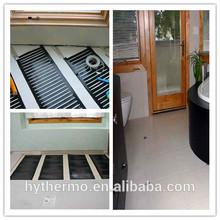 PTC self-regulating bathroom heating film systems
