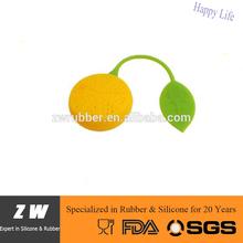 ZW Colorful Lemon Silicone Tea Infuser