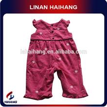 wholesale new fashion organic cotton baby clothing