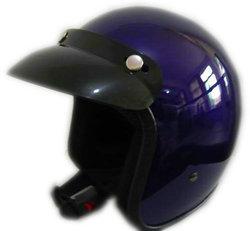 hot popular and unique design purple motorcycle helmet