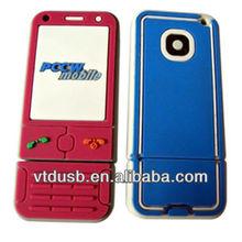 Mobile phone usb flash drive phone usb pen stick wedding favors usb mobile