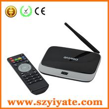 android tv box quad core XBMC skype HD/Bluetooth/Wifi antenna android quad core android tv box MK888 CS918