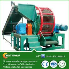 high output rubber powder scrap rubber tyre recycle machine CE tire granulator machinery