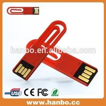 cute book clip shape 16gb usb flash drive 3.0/2.0 full capacity bulk sell in china 2014
