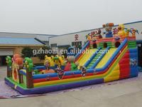 HL -0016 inflatable Water Slide