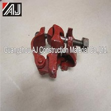 Pressed casting forged 90 degree scaffolding clamp coupler from Guangzhou factory