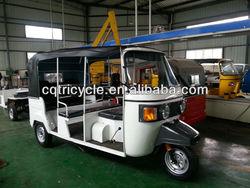 8 passenger seat bajaj three wheel taxi tricycle