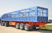 animal transport vehicle :livestock transport semi tailer on sale