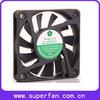 60*60*10mm 5v/12v dc brushless cooling fan