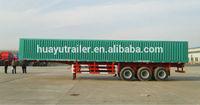 Box/Van Caogo Semi Trailer/steel box semi traile/steel box commercial vehicle/steel box trailer