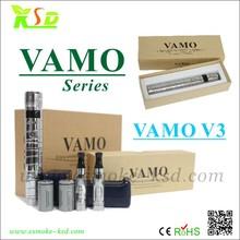 new design ksd ecig 3w-15w vv/vw mod e cigarette 18350 18650 battery vamo v3 starter kit uk
