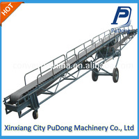 Price wood timber Rubber belt conveyor