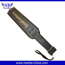 GC-1001active hand-held metal detector designed to find metal (ferrous, nonferrous and stainless steel) weapons, contraband