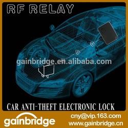 12V high quality car alarm system, RF relay design for car anti-theft, Just replace car original relay, wire-free