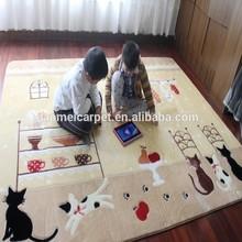Hand tufted Carpet for children