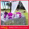 Best selling embroidery sequin beaded fancy wedding linen vinyl lace table cloth