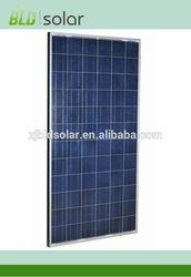 270W Polycrystalline Solar Panel passed UL/MCS/TUV/ISO9001 ect