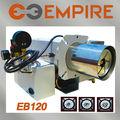 China eb-120 proveedor aprobado por la ce tubo de intercambiador de calor/de residuos de petróleo estufa/de residuos de aceite de la estufa de piezas de repuesto