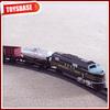 Kids Funny B/O Battery Operated 1:87 Plastic Classic Railway Electric Locomotive model kids electric model train n scale