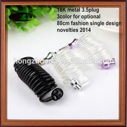 Accessment supplier high quality hot sale latest fashion best price earphone& radiation proof earphones & music earphones