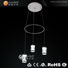 dinning room on chandelier,acrylic pendant lamp OM88182-3B