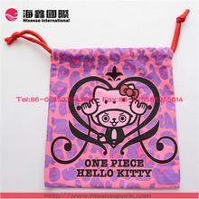 2014 Fashion organic cotton bag small cotton bag