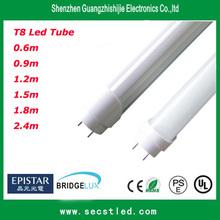 2014 hot sale best quality UL/cUL & DLC LM 80 t8 led tube with IES report 10w/15w/19w/22w/30w/38W with isolated internal driver