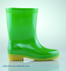 PVC cheap clear lightweight rain boots for kids