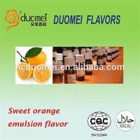Orange emulsion flavor(essence) for juice beverage