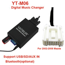 Yatour YT-M06 digital music changer for Mazda>Car audio USB/SD/AUX IN MP3 player
