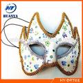 Güzel çiçek bayan parti maskesi, maskeli şahıs maskeleri