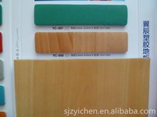 Yichen wood effect plastic flooring